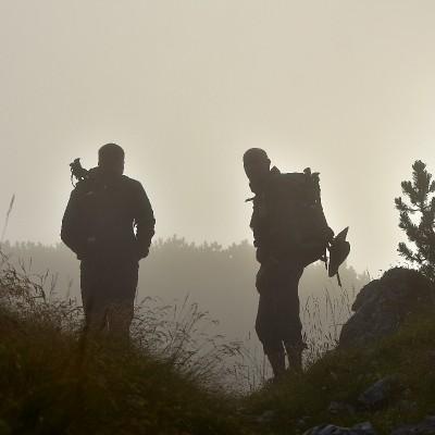 Mateja Kandolf Podkoritnik: Pohod v megli
